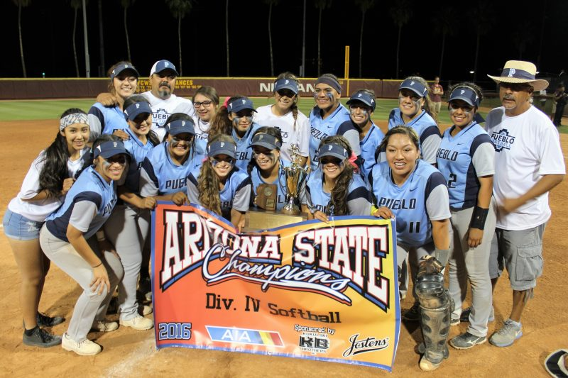 SOFTBALL: Pueblo beat Camp Verde 5-0 to win Division IV championship