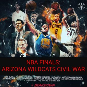 Informal poll of Arizona Wildcats fans indicates Golden State heavily favored over Cleveland