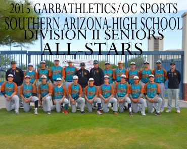 Southern Arizona Baseball All-Star Games Rosters