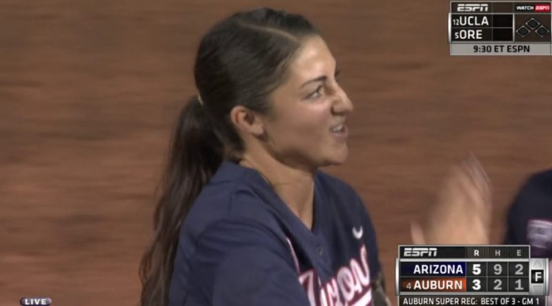 Arizona Wildcats win Game 1 of Super Regionals at Auburn