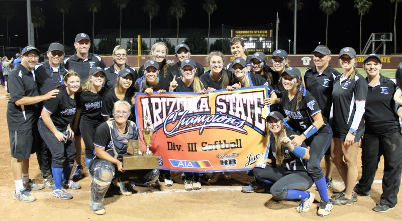 SOFTBALL: Catalina Foothills claims state championship