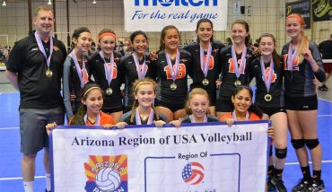 CLUB VOLLEYBALL: SAVA 14 Black won region championship