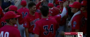 Arizona Wildcats one game away from CWS final series