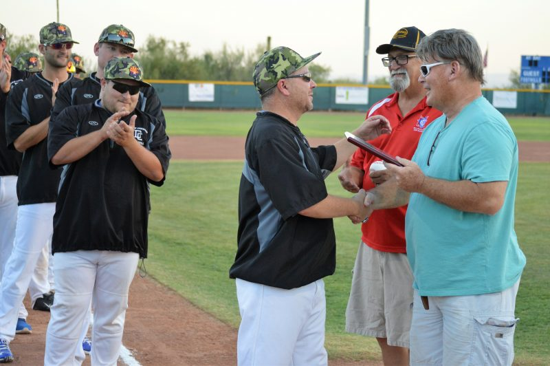 D III-V Futures Game: Grant Hopkins recognized for his coaching career