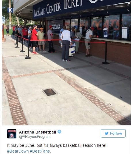 Arizona Wildcats social media reactions: Plenty going on in June