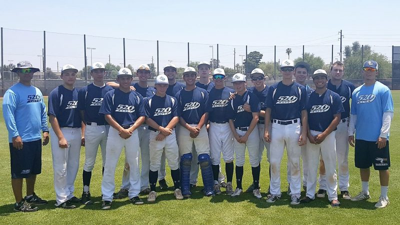 520 Elite Baseball sending 16U & 18U teams to Phoenix this weekend