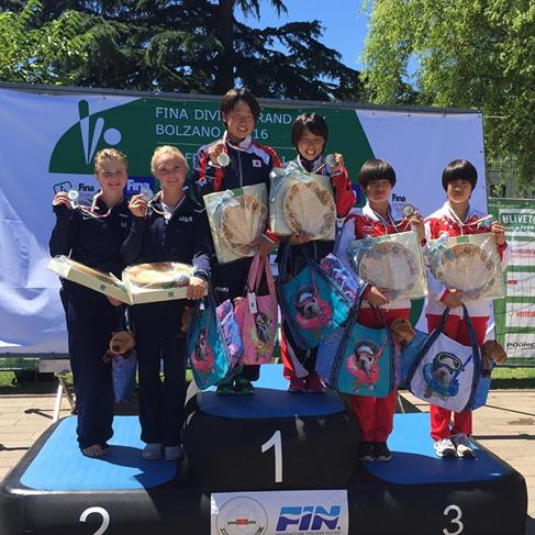 Tucson diver Delaney Schnell takes silver in Italy