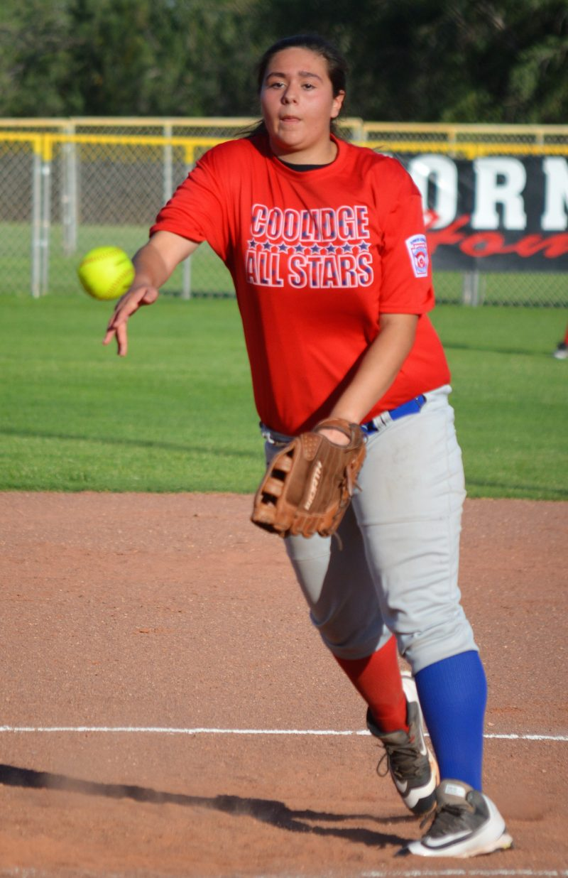 LITTLE LEAGUE: Coolidge eliminates Thornydale at state junior softball tournament