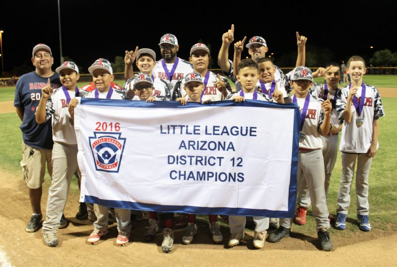 LITTLE LEAGUE: Randolph Little League advances to state tournament
