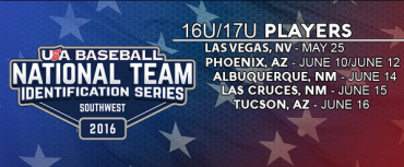 Six local standouts named to USA Baseball Southwest NTIS
