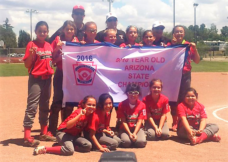 Thornydale 9-10 Softball wins state championship