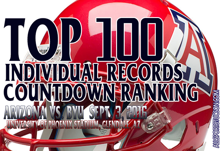 Recap of Arizona Wildcats top 100 individual records: No. 21 to 100