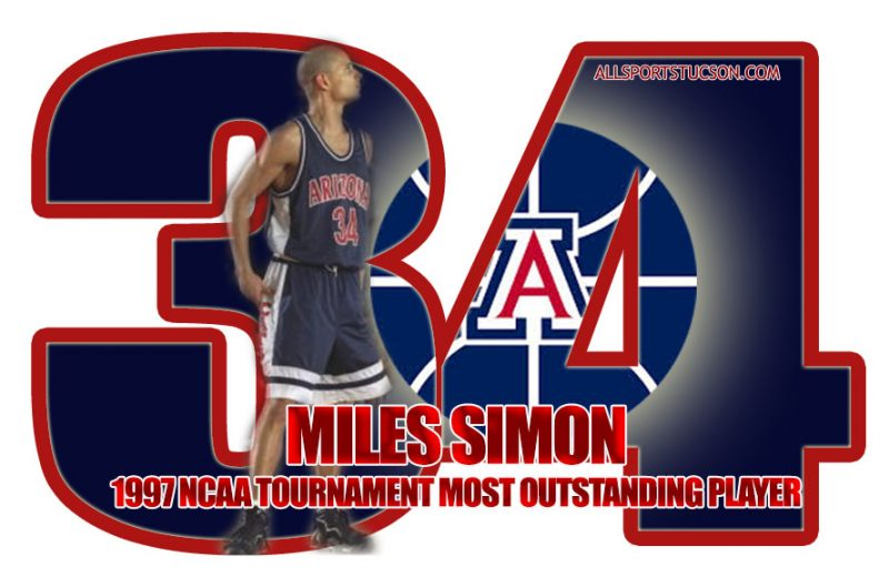 Simon's legendary March Madness path to having his No. 34 recognized by Arizona Wildcats
