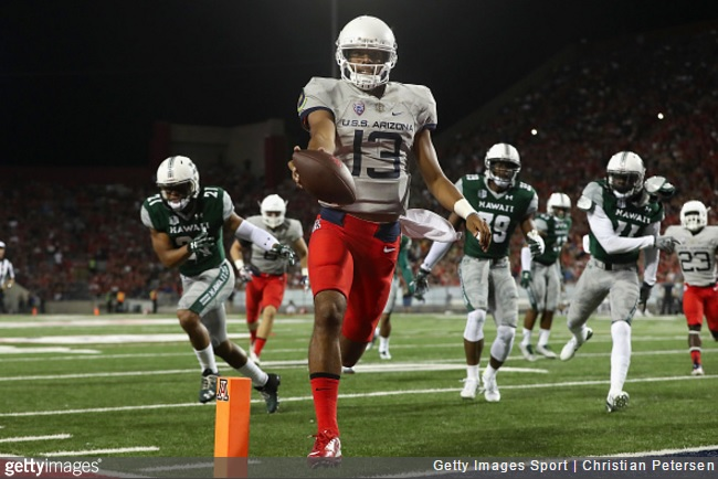 Arizona Wildcats' 47-28 win over Hawaii in photos and tweets