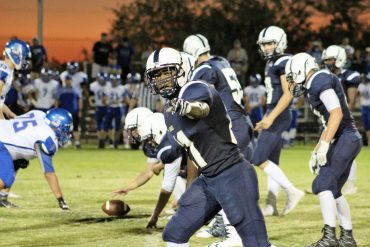 FOOTBALL: Christian Fetsis has perfect night, leads Pusch Ridge past Safford