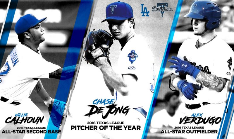 Alex Verdugo named Texas League All-Star again