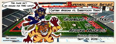 Off-the-beaten-path storylines: Arizona Wildcats vs. Grambling State Tigers