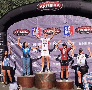 CYCLING LEAGUE: Salpointe's Madison Major takes over leader jersey with win